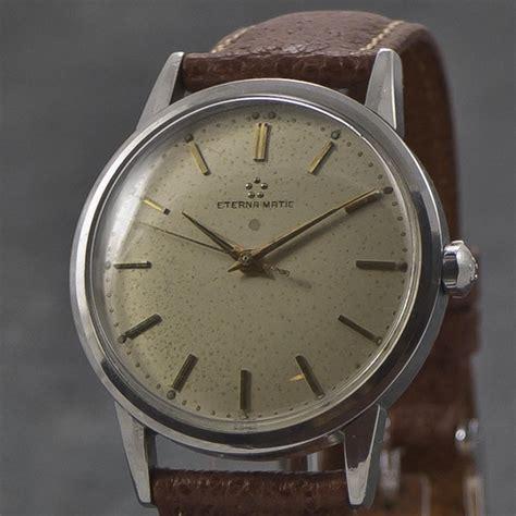 Tissot Matic 4 eterna matic 1953 automatic www wristchronology