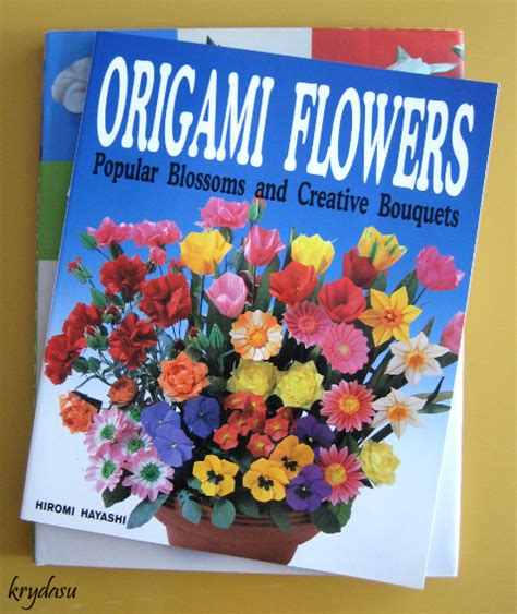 origami flower books krydasu origami balloon flowers