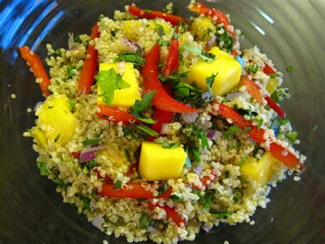 salads recipes mango quinoa salad recipe cooking with alison