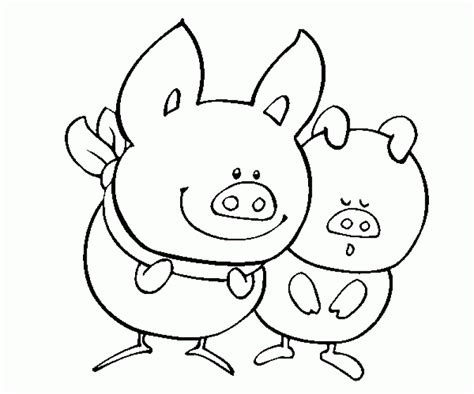 pigs coloring pages coloring home cartoon pig coloring pages coloring home
