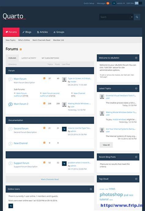 vbulletin themes colors 17 best phpbb vbulletin and vanilla forum themes 2017