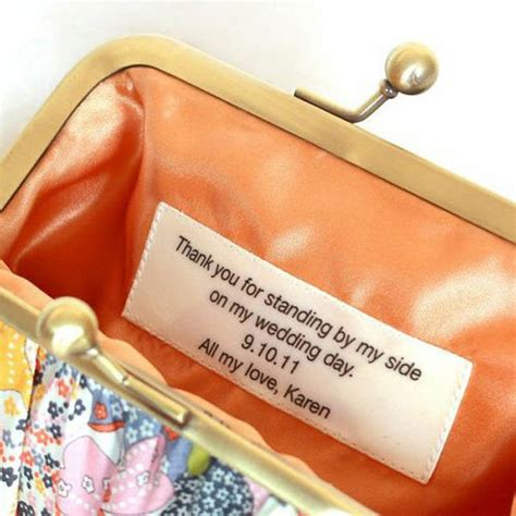 Gifts For Your Bridesmaids by 25 Ways To Give Thanks At Your Wedding Bridalguide