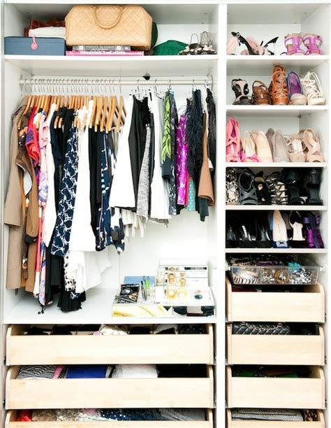 small closet organization tips haute and comely small wardrobe organisation ideas