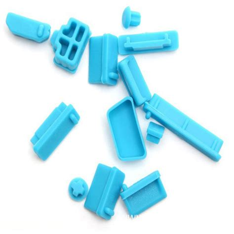 Termurah Silicone Notebook Dustplug Dust Silikon Sillicone 13pcs protective ports cover silicone laptop notebook anti dust stopper ebay