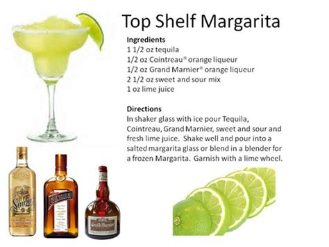 Best Top Shelf Margarita Recipe by Midnight Mixologist