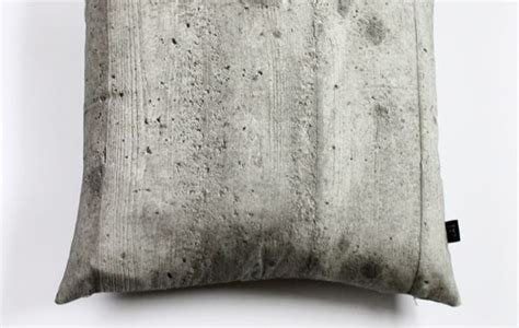 Concrete Pillow by Soft Cement Cushions Concrete Pillow