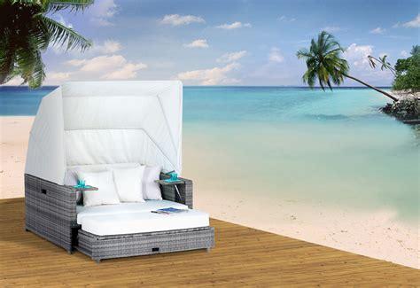 garten sonneninsel lounge garten polyrattan liege sonneninsel