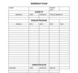 fitness plan template search results for work out plan temple calendar 2015