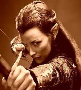 elven huntress braids seen in the hobbit viking