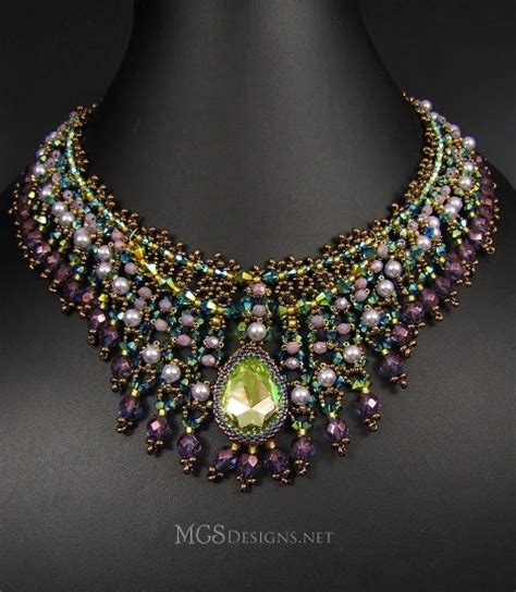 beading in the ozarks 1000 images about colourful beadwork necklaces on