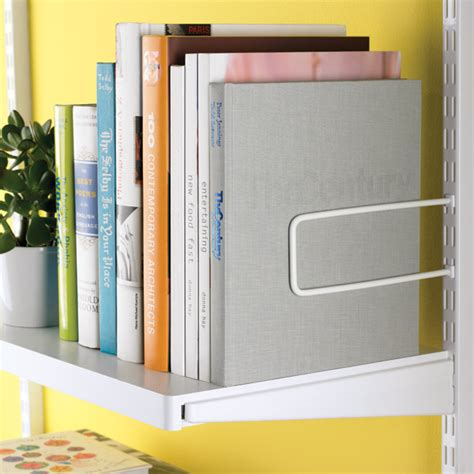 white elfa d 233 cor shelves the container store