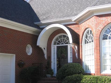 exterior arch portico front entry traditional entry philadelphia by cushing custom homes bracket porticos traditional entry atlanta by