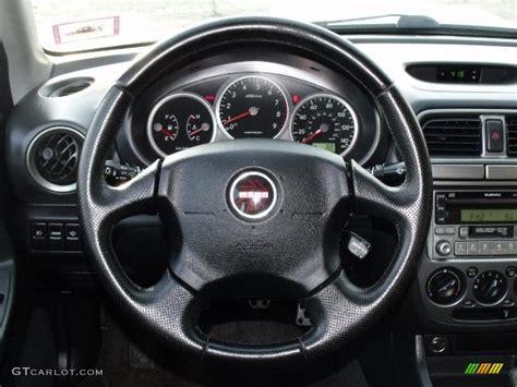 subaru impreza steering wheel 2004 subaru impreza wrx sedan dark gray steering wheel