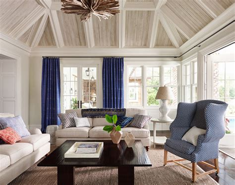 Benjamin Moore Electric Blue east coast inspired shingle house home bunch interior