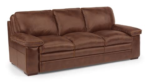 flexsteel penthouse sofa flexsteel living room leather sofa 1774 31 seaside