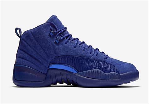 Air 12 Retro Royal Blue Suede Legit air 12 royal blue suede release date sneaker bar detroit