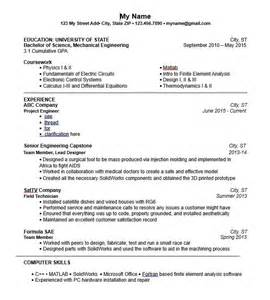 resume mechanical engineer material handling system
