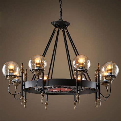 black wrought iron pendant lights retro pendant light black wrought iron glass modo