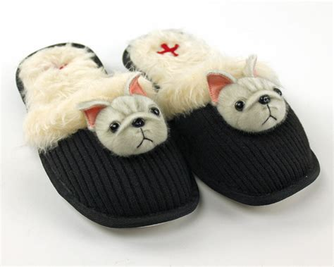 bulldogs slippers bulldog slippers slippers fuzzy nation