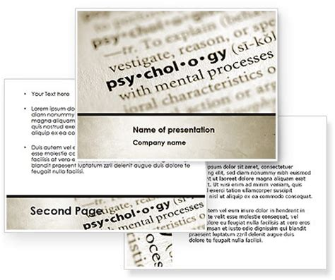 powerpoint themes psychology definition of psychology powerpoint template