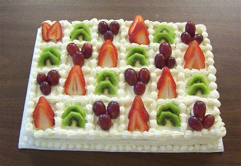 Fruit Cake Decoration by Taukirknalo Fruit Cake Decoration