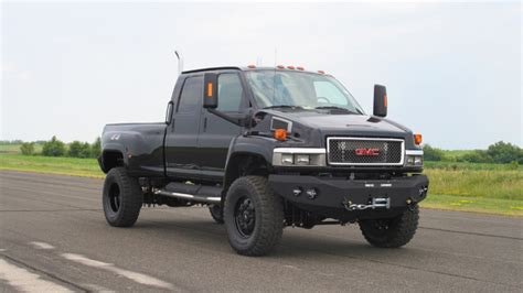 ironhide edition gmc topkick 6500 by truck
