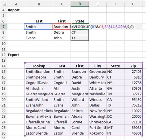 vlookup tutorial range lookup vlookup on two or more criteria columns excel university