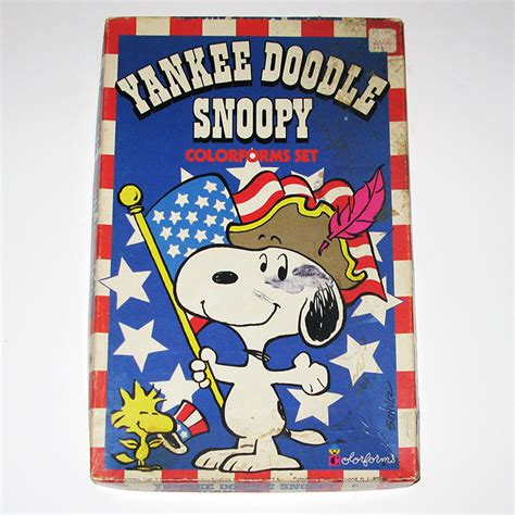 yankee doodle fast food yankee doodle snoopy colorforms collectpeanuts
