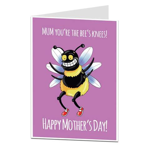 Bee's Knees Mother's Day Card   Lima Lima Cards & Gifts