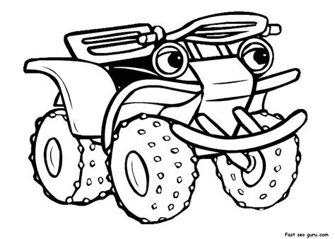 printable quad coloring pages free quad bike coloring pages