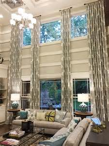 Two Story Living Room Curtains by 1000 Ideas About Window Treatments On