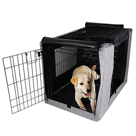 dog crate covers for wire dog crates 4 great choices petsfit crate cover for 36 inches wire crates size 4000