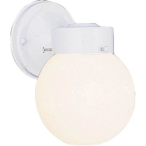 home depot white outdoor wall lighting volume lighting 1 light white outdoor wall mount v1527 6