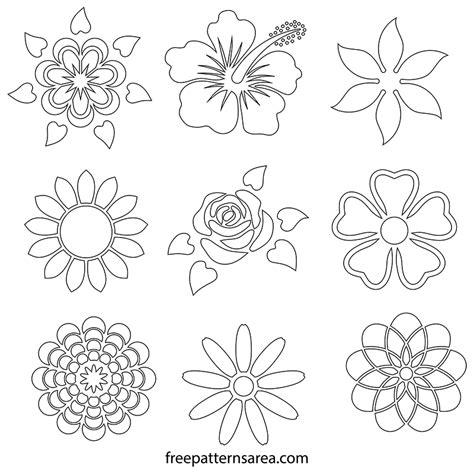 Printable Flower Stencils flower stencil designs flowers ideas for review