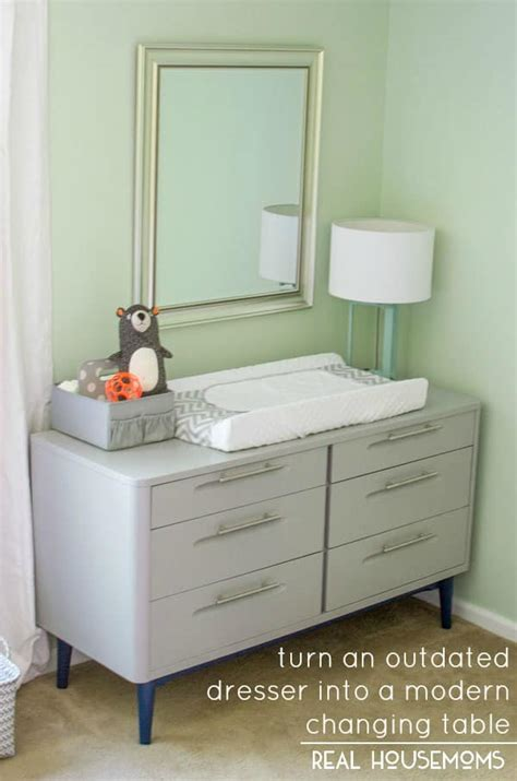 outdated dresser to modern changing table real housemoms Is A Changing Table Necessary