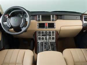 Range Rover 2006 Interior 2006 Land Rover Range Rover Hse Sport Utility Interior