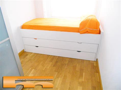 cama compacta nido doble  cajon cm sant cugat del valles barcelona ana