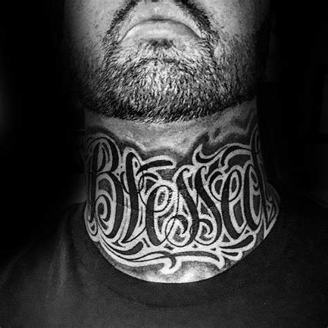 best neck tattoos for men collection of 25 neck
