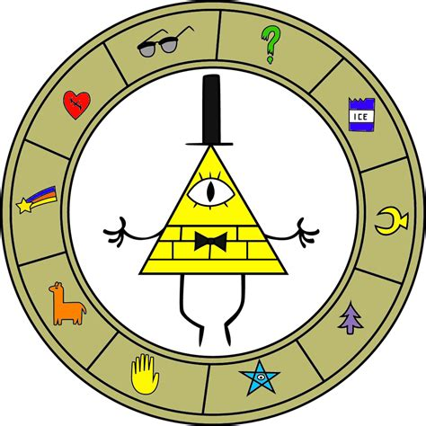 gravity falls bill cipher wheel bill cipher by r8ted r on deviantart gravity falls