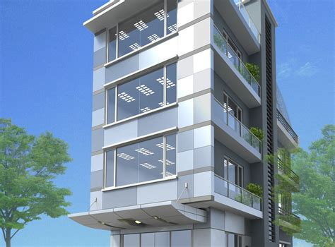 3d Models Small Office Building Free 3d Model Max Obj 3d House Building Free