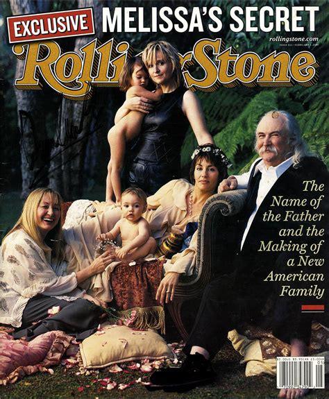 david crosby autograph david crosby autographed rolling stone magazine uacc rd