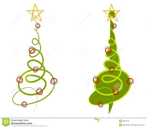 abstrakte weihnachtsbaum klipp kunst lizenzfreie