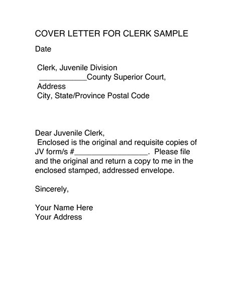 clerk cover letter resume for sales clerk position resume examples