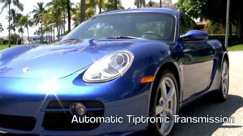 2007 porsche cayman s youtube 2007 porsche cayman s cobalt blue metallic youtube