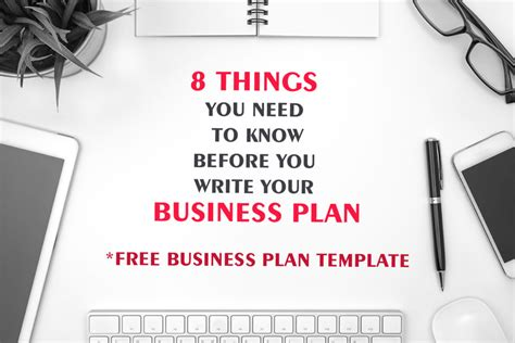 8 things you need to before you write your business