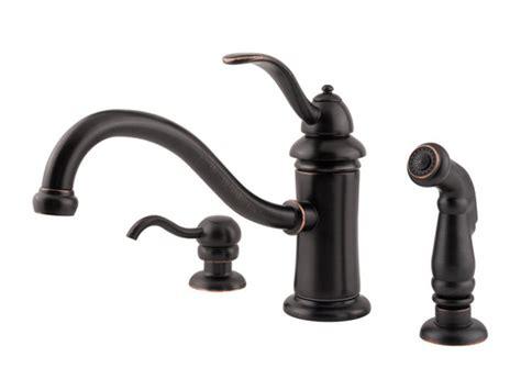 marielle kitchen faucet pfister marielle 1 handle kitchen faucet tuscan bronze