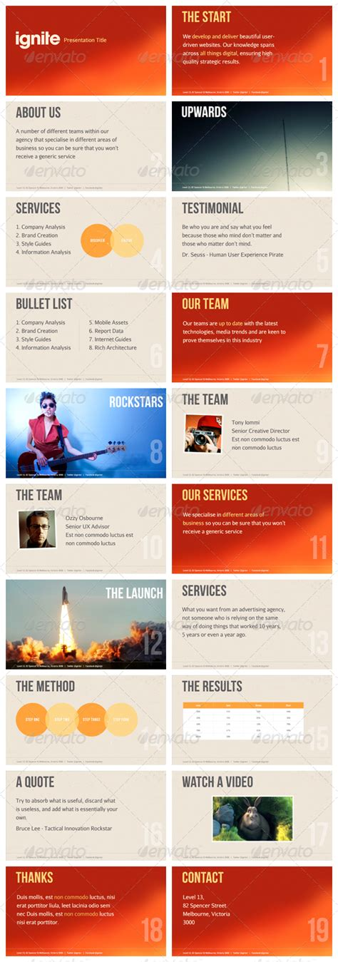ignite powerpoint template ignite keynote presentation template presentation