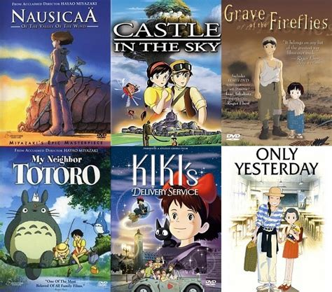 film terbaik studio ghibli exploring the studio ghibli vault 1984 to 1991 forever