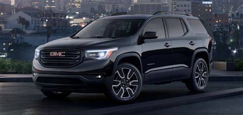 2019 Gmc Acadia by 2019 Gmc Acadia Black Edition Info Features Wiki Gm