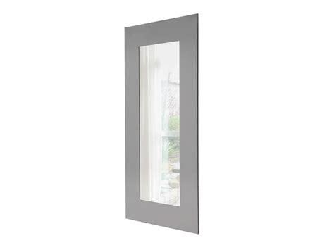 cornici acciaio specchio rettangolare con cornice in acciaio lucido